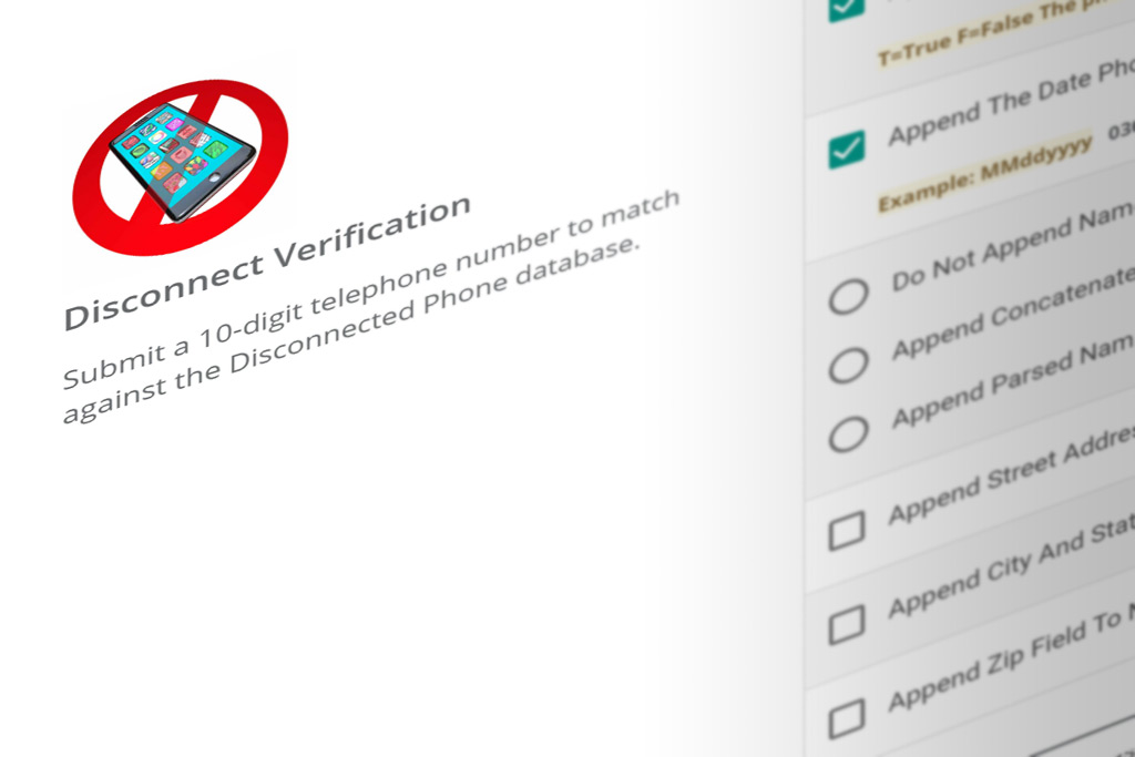 DIY Portal disconnected phone verification services